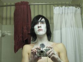 Ulquiorra Makeup Random Pic #2 by Shad0wKillr