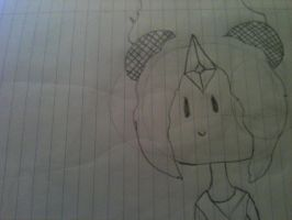 Flame Princess sketch by LoveYouForeverBabe