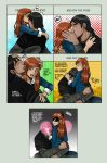 Gwevin Cute Kiss Meme by kitsune999