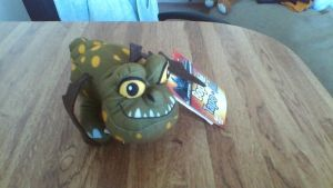 How To Train Your Dragon Gronckle Bop-Me Plush by PokeLoveroftheWorld