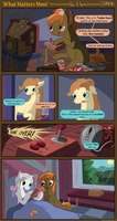 What Matters Most (Comic Commission) by seventozen