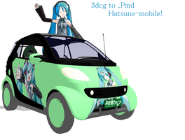 Miku-Mobile -DL by MMDFakewings18