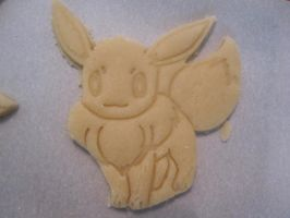 Eevee Cookie Dough Cut by B2Squared