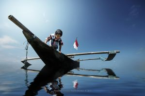 I Love The Blue Of Indonesia by perigunawan