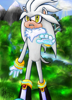 Silver the Hedgehog by SonicRose