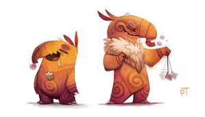 DAY 485. Kanto 096 - 097 by Cryptid-Creations