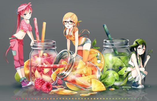 Jar girls by Quiss