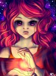 Red magic witch by Menri