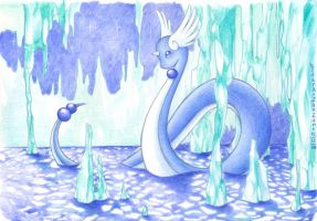 Dragonair - Icicle Mirage by Kidura