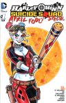 Harley Quinn Suicide Squad Sketch Cover by timshinn73