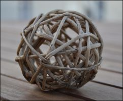 Wicker ball by FrankAndCarySTOCK