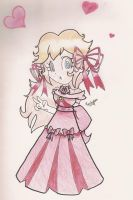 Princessy Peach by beckyboc