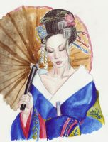 Geisha by waiting4mySunshine