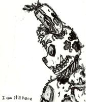 Springtrap Doodle at Work by lilttemiss