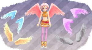 MMD Wings by MMD3DCGParts