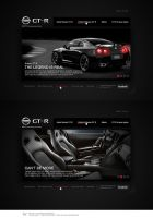 Nissan GT-R Website Redesign by Forza27