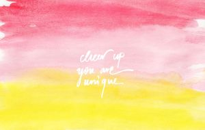 Cheer Up | with text by cocorie
