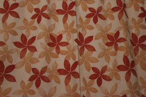Autumn Leaves Curtain by kato9stock