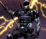 Snake Eyes Storm Shadow #15 sneak peek panel by spidermanfan2099