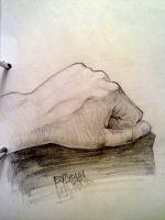 My hand 2 by Sheym