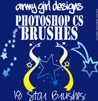 PS Star Brushes AGD by armygirldesigns