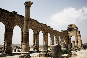 The Basilica of Volubilis II by Solrac1993