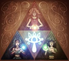 The Triforce by CauseImDanJones