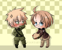 Hetalia: burger love by Irelys