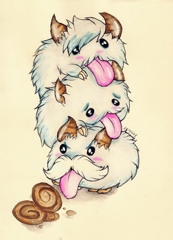 which poro will get the cookies? (LOL) by XxsilvixX