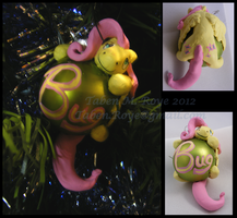 Fluttershy Holiday Ornament by Tanadrine-Studios