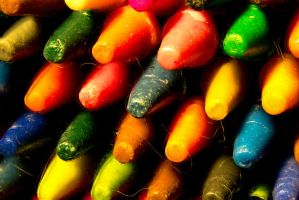 Macro Test Fail/Success - Crayons by wetdryvac