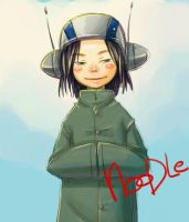 Cute Noodle Gorillaz by Chaii29