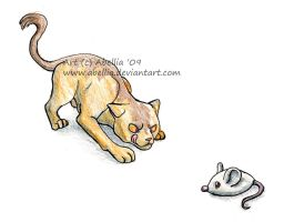 Cat and Mouse by Abellia