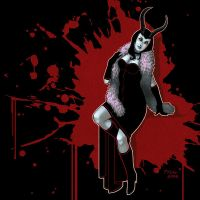 Demoness Pinup by McGibs