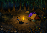 The Cold Campfire by SAibIRfan