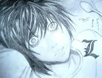 Death Note: L Lawliet by shirakouri