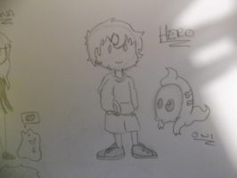 Hero chibi by spot1the2dog3
