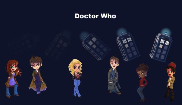 Doctor Who by Elechka2103