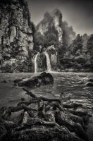 Ilica Waterfall by TanBekdemir