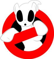 Pony Ghostbusters logo v02 by decompressor