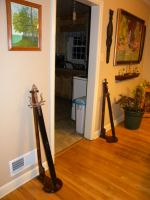 Sword stands. by hcollazo2000