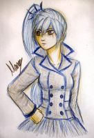 RWBY - Weiss Schnee SnowPea by MarieyeohKH24