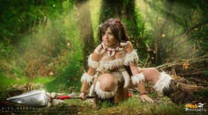 League of Legends - Nidalee: Deep in the jungle. by DidsRainfall