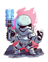 FN 2199 First Order Storm Trooper by DerekLaufman