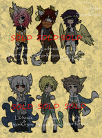 | . CLOSED . | .Mythical Creature Themed Adopts. | by Saya-Kiryuu