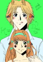 Fawn and Demetri by loverofmanga