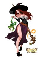 Dragon's Crown - Sorceress by yourcris