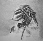 Finished female predator by CoolleKotten