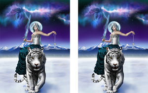 Stereoscopic 3D Tiger by Craig-R