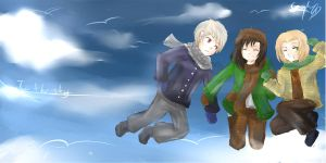 APH_To The Sky by LDelphinus